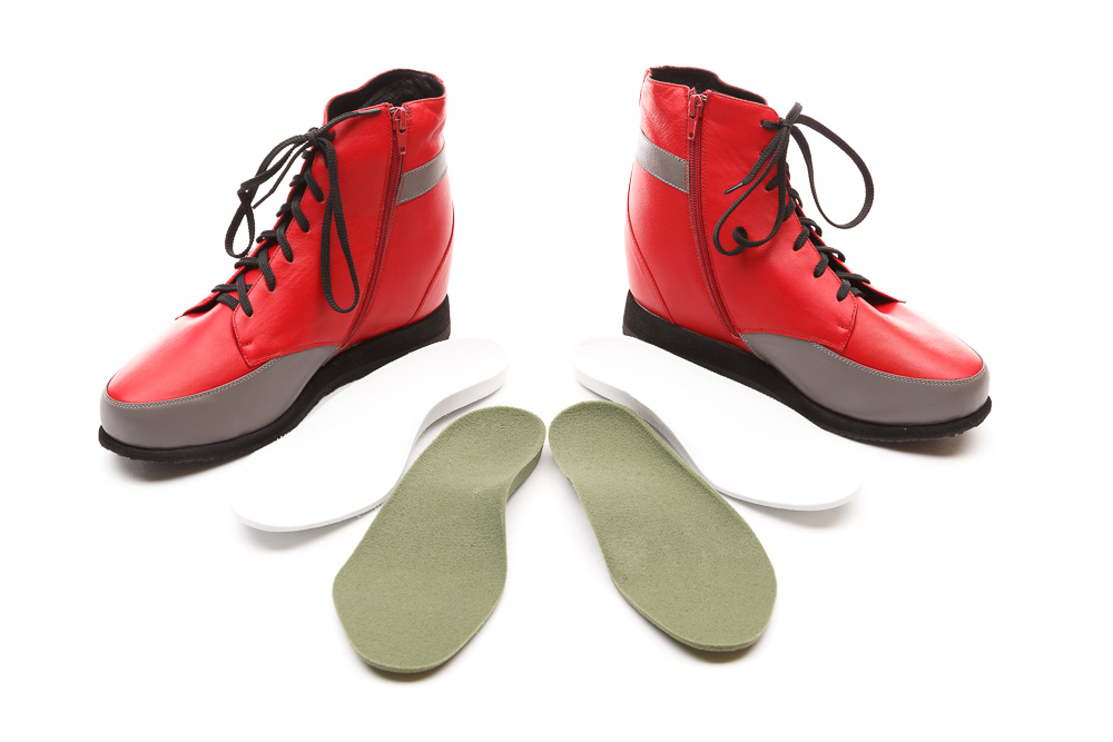 9bb47021e1e myPedorthist Exacta3D red boots with orthotics