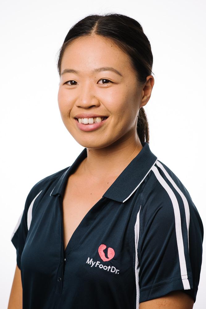 Podiatrist Natalie Truong