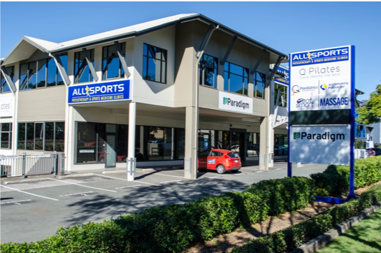 Allsports Physio Centre Building MyFootDr Indooroopilly