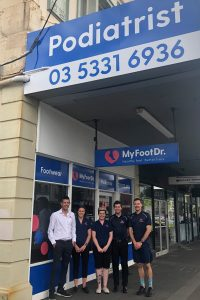 My FootDr Ballarat Team Photo