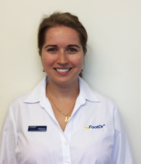 Brittney Wirtz my FootDr Townsville Podiatrist