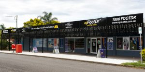 my FootDr podiatry centres AFAI Centre of Excellence at 50 Wyena Street, Camp Hill