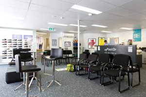 my FootDr podiatry centres AFAI Centre of Excellence Reception & Patient Lounge