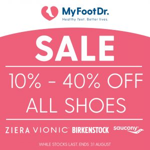 End of Season Shoe Sale