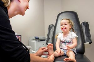 Children's Foot Health Check Podiatrist