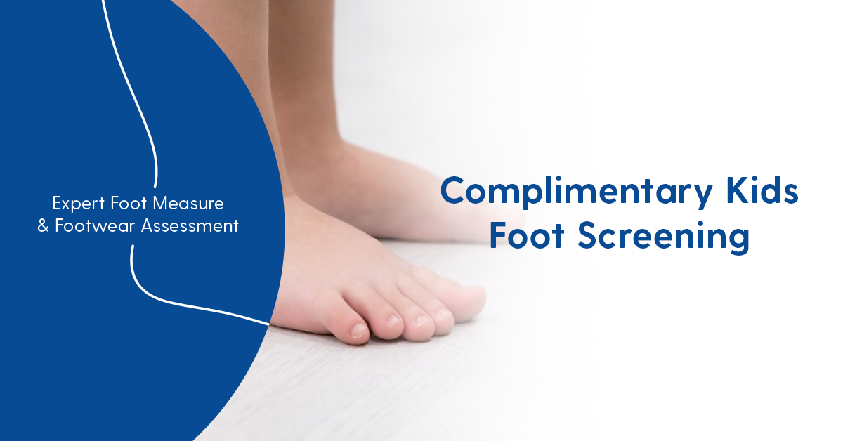 Complimentary Foot Screen - Children's Feet