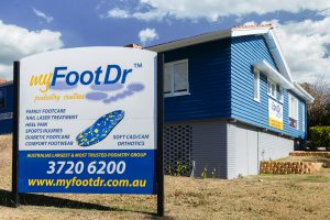 my FootDr podiatry centres at Indooroopilly