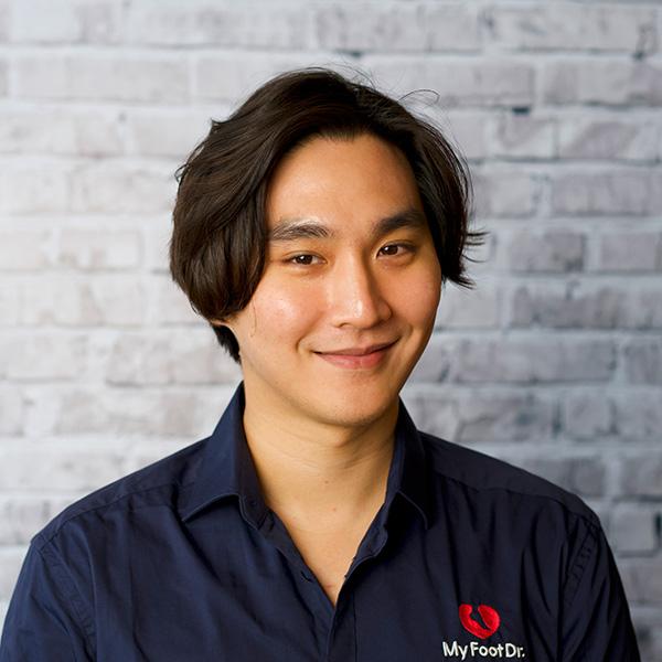 Podiatrist Jake Yu