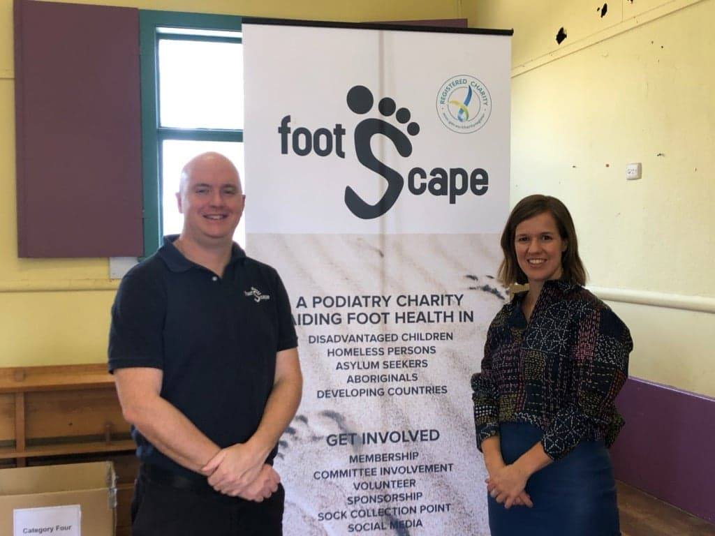 Taking A Stand For Australia's Foot Health With Footscape