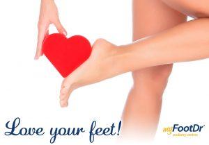Valentine's Day - Love Your Feet