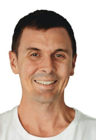 Podiatrist Simon McSweeney