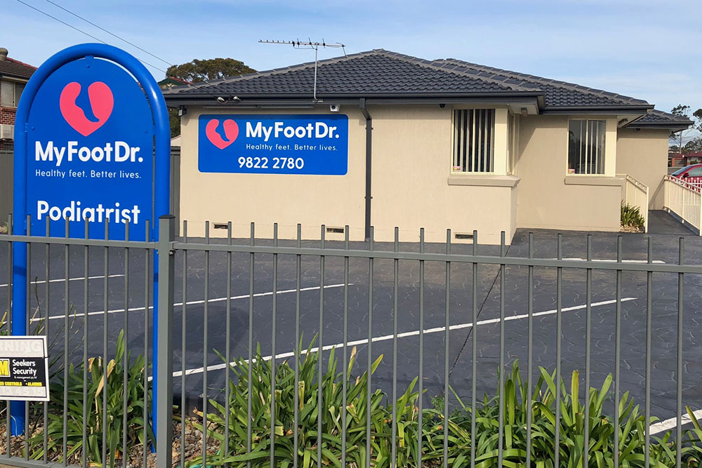 My FootDr Moorebank - Foot Focus