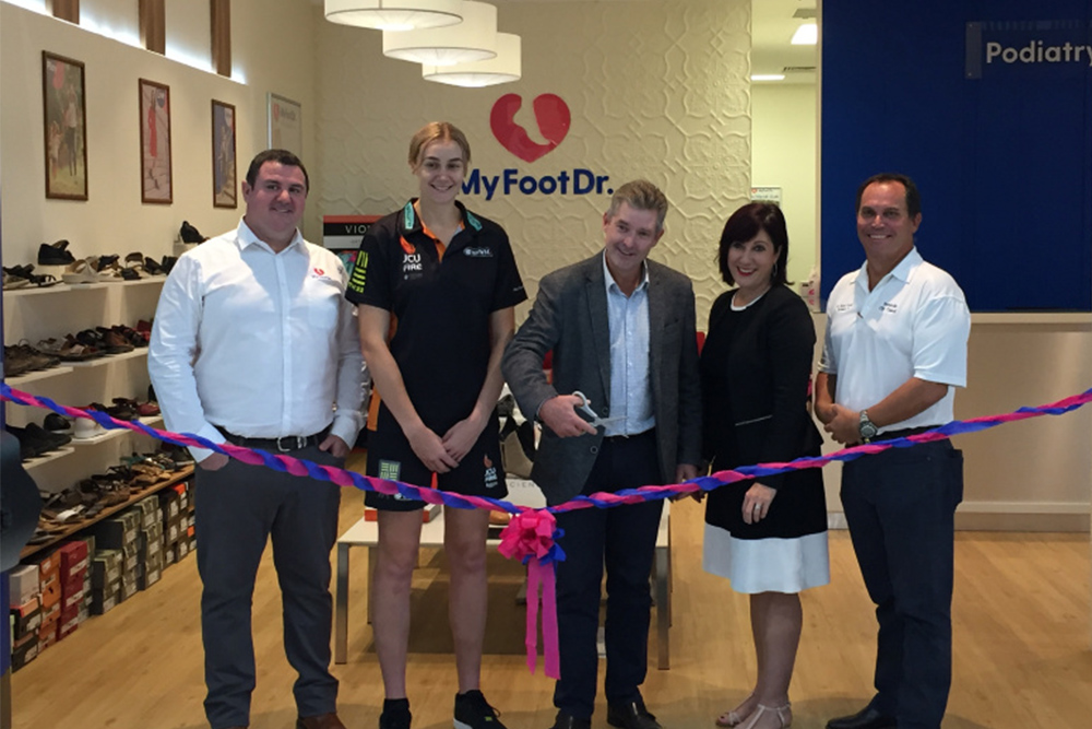 My FootDr Townsville Willows Shopping Centre Opening
