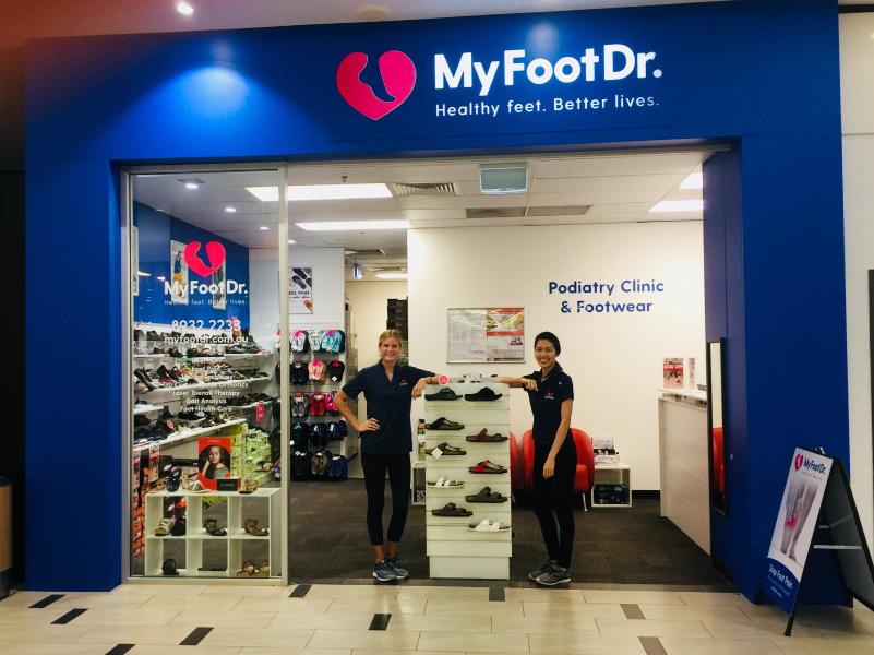 My FootDr Palmerston Podiatry Clinic Team Photo
