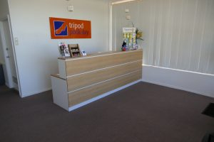 Tripod Podiatry, Queenstown Adelaide- Reception