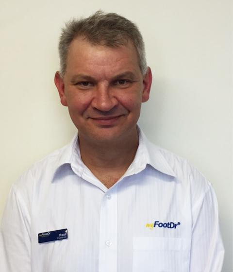Paul Ovaska my FootDr Townsville Podiatrist