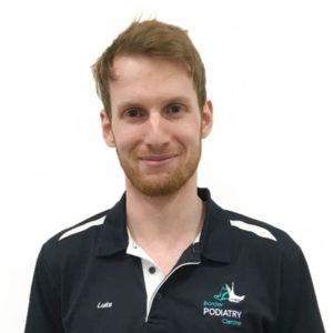 Podiatrist Luke Hillas Border Podiatry Centre