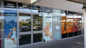 my FootDr podiatry centres at Redcliffe's Dolphins Shopping Centre