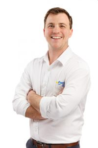 Nick Hickey, my FootDr partner and podiatrist
