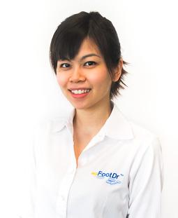 Jeanie Ho, Receptionist, Singapore