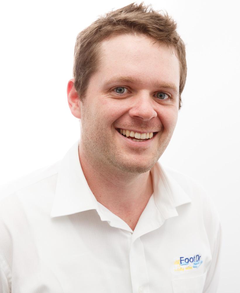 Daniel van Hoof-Harkin, Laboratory Technician, Receptionist & Podiatry Student