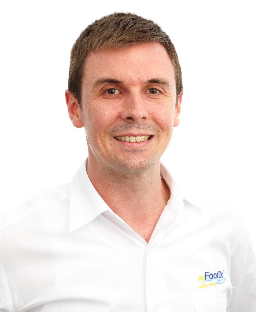 Simon McSweeney, Podiatrist