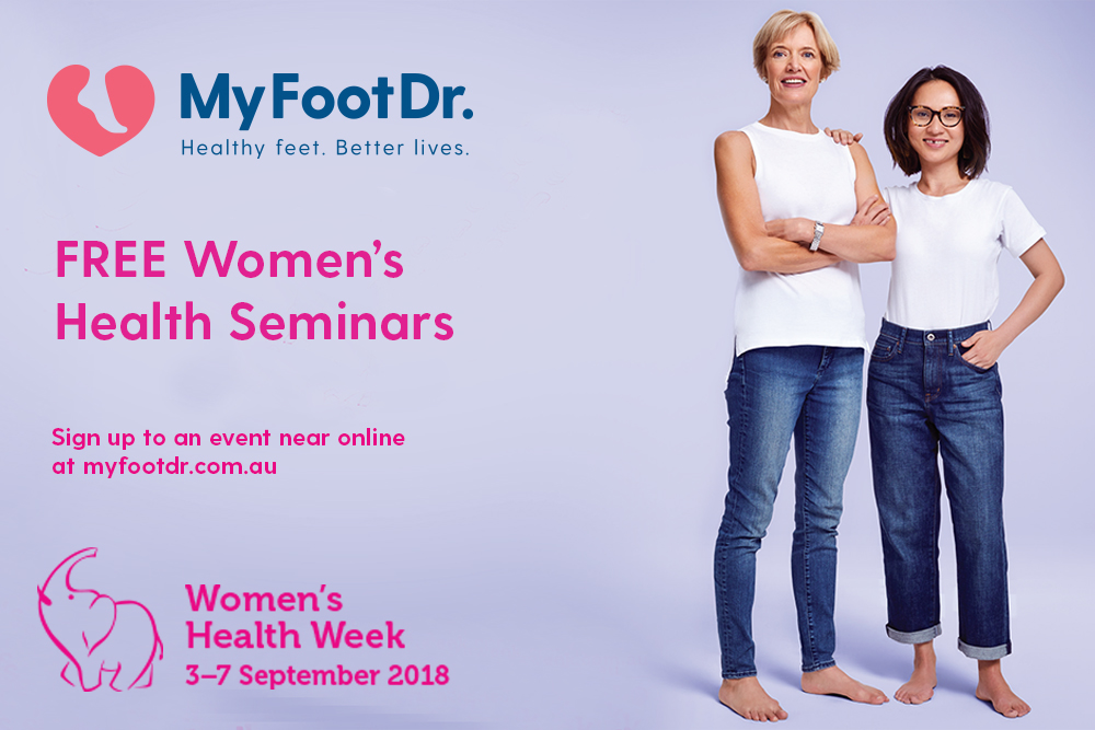 My FootDr Women's Health Week