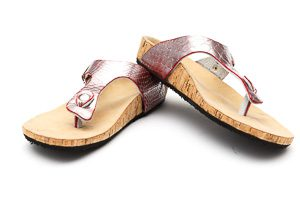 Amaroo Custom Sandals with Pink Straps