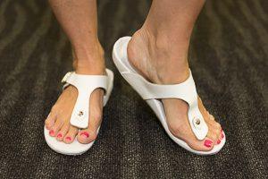 Custom White Sandals