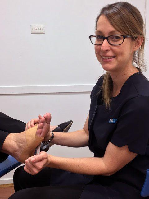 Podiatrist Hayley Outred My FootDr Boronia