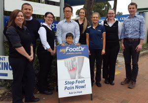 Podiatry Modbury Team Photo