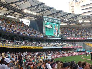 Brisbane Heat at The Gabba