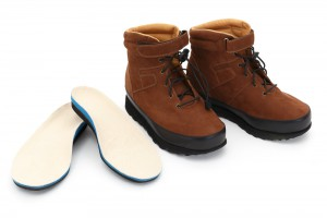 Custom Brown Suede Boots with Orthotics
