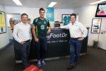 Patrick Cummins from Australian Cricket Team with Greg & Darren