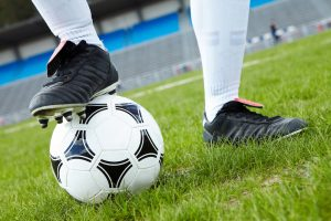 Soccer Shoes & Ball