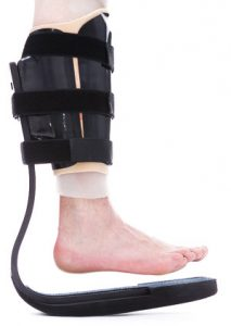 TAG Brace - Total Anti-gravity offloading brace for diabetic foot ulcers, Charcot's Foot, complex foot fractures and post surgery